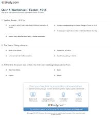 quiz u0026 worksheet easter 1916 study com