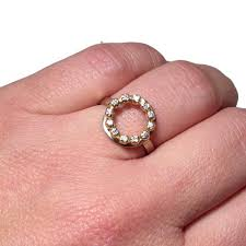 circle engagement rings handcrafted engagement ring joanna gollberg