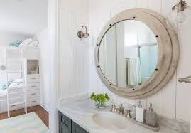 nautical bathroom mirrors nod to nautical bathroom nautical bathroom mirror genersys