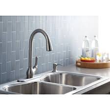 bathroom design kohler faucets barossa single handle pull down