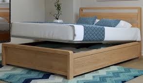 popular of wood ottoman bed hip hop ottoman double size bed frame