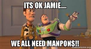 Jamie Meme - its ok jamie we all need manpons buzz and woody toy story