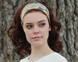 cloth headbands fabric headband etsy