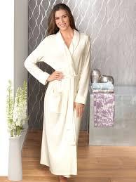 robe de chambre longue robe de chambre femme en coton viviane boutique