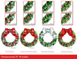 commercial christmas decorations light pole banners 3d