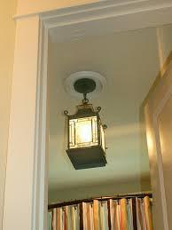 replacing light fixture in bathroom