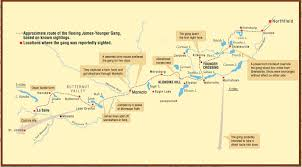 Austin Mn Map by Follow The Outlaw Trail Explore Minnesota