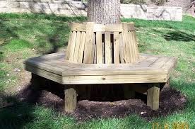 Tree Bench Ideas Bench Outstanding How To Make A Around Tree Round Designs