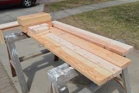 Indoor Wood Bench Plans Kruse U0027s Workshop Simple Indoor Outdoor Rustic Bench Plan