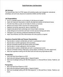 Child And Youth Worker Resume Examples by Social Worker Job Description Care Worker Cv Counsellor Cv