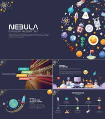 27 Images Of Space Theme Powerpoint Template Leseriail Com Cool Ppt Designs