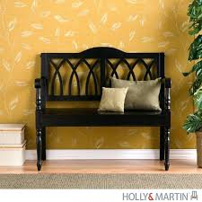 entryway benches with backs furniture entryway bench with back and arms upholstered beautiful
