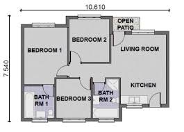 house plans 3 bedroom 3 bedroom house designs and floor plans in south africa homes zone