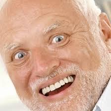 Meme Smile - hide the pain harold trying to smile meme mobile wallpaper 800 1280