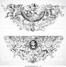 royalty free footer stock angel designs