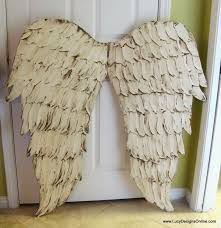 Wings Wall Decor Wooden Angel Wings Wall Decor Wall Shelves