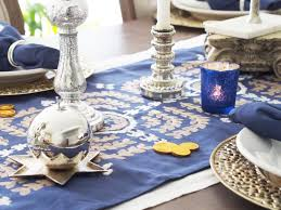 hanukkah decorations sale typical domestic set the table hanukkah edition hanukkah