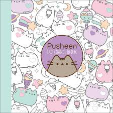 amazon com pusheen coloring book 9781501164767 claire belton