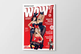 mediamarkt club magazin wow playboy kooperation cover
