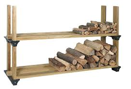 Diy Firewood Rack Plans by Amazon Com Hopkins 90144 2x4basics Firewood Rack System Black