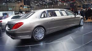 geneva live mercedes maybach s class pullman luxury king with
