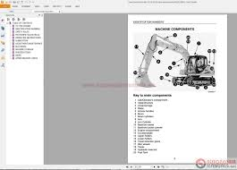 auto repair manuals crawler excavators service manual operators