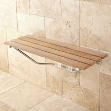 Bathroom Shower Bench 36 Folding Teak Shower Seat Bathroom