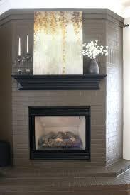 fireplace scenic brick fireplace surrounds ideas home furniture