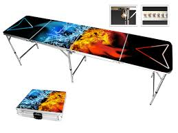 fold up beer pong table the world s most popular beer pong tables durable portable