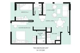 Four Bedroom Bungalow Floor Plan Bungalow 2 Bedroom House Plans