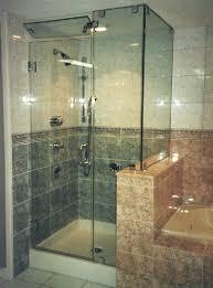 Frameless Steam Shower Doors Mirrors