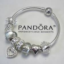 pandora bangle bracelet with charm images Authentic pandora bracelet pink love mickey mouse wish crystal jpg