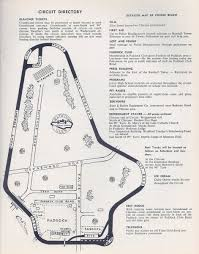 First Map Of United States by United States Road Racing Championship 1966 Programme Covers