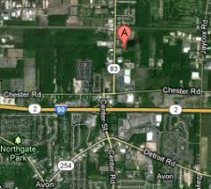 avon ohio map automotive specialty services avon ohio lorain county