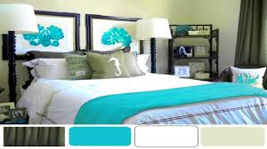 bedroom wonderful accents design turquoise yellow and gray