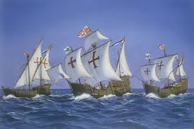 image from http www kidspast com images columbus ships gif