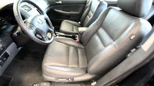 2005 Honda Accord Interior 2005 Honda Accord Ex V6 Nav Stk 17519a For Sale At Trend