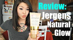 All Natural Sunless Tanning Lotion Review Jergens Natural Glow Sunless Tanner Lotion