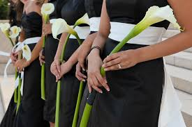 wedding flowers for bridesmaids calla lilies wedding bouquets calla wedding flowers 550x366