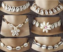 wholesale beaded necklace images Wholesale jewelry catalog cowrie shells necklace with coconut wood jpg