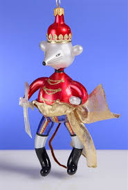 de carlini nutcracker mouse king ornament the cottage shop