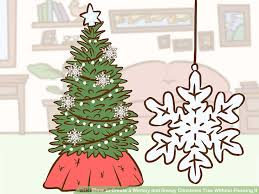 Christmas Ornaments Without Tree by How To Create A Wintery And Snowy Christmas Tree Without Flocking It