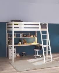 bureau 190 cm et étagères blanc accessoires but
