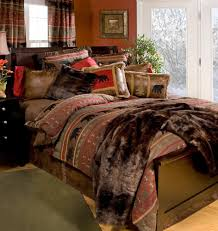 bear country cabin rustic western comforter bedding set newest