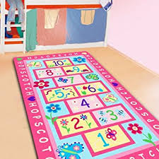 Kid Rugs Cheap Fadfay Home Textile Fashion Hopscotch Carpet