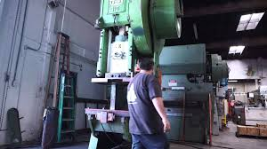 110 ton usi clearing obi punch press youtube