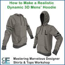 hoodie designer md111 marvelous designer hoodies workshop 2 s hoodie