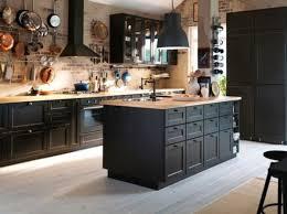 grande cuisine avec ilot central cuisine avec ilot central cuisine rustique meubles rangement