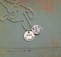 personalized sterling silver jewelry personalized sterling silver jewelry sted necklace st