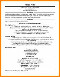 Housekeeper Resume Samples Free 100 Hospitality Resume Sample Cozy Ideas Sample Resume